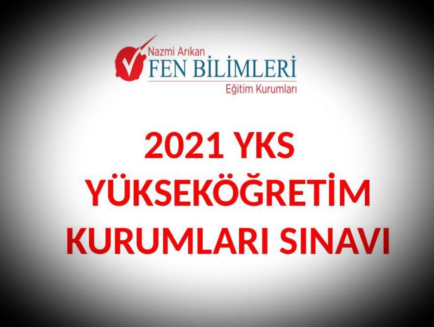 2021 YKS Sınav Sistemi Sunumu