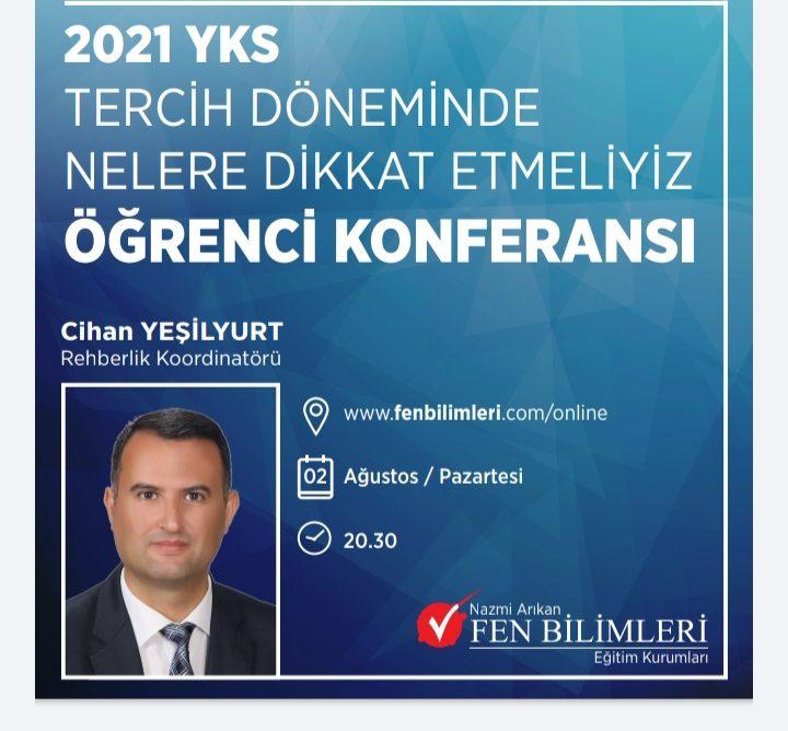 2021 YKS Tercih Konferansı