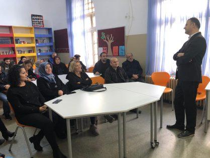 Kadıköy Gazi Mustafa Kemal Ortaokulu 8. sınıf velilerine Sınava Hazırlanan Çocuğun Anne Babası Olmak konulu sunum yaptım. 11.12.2019