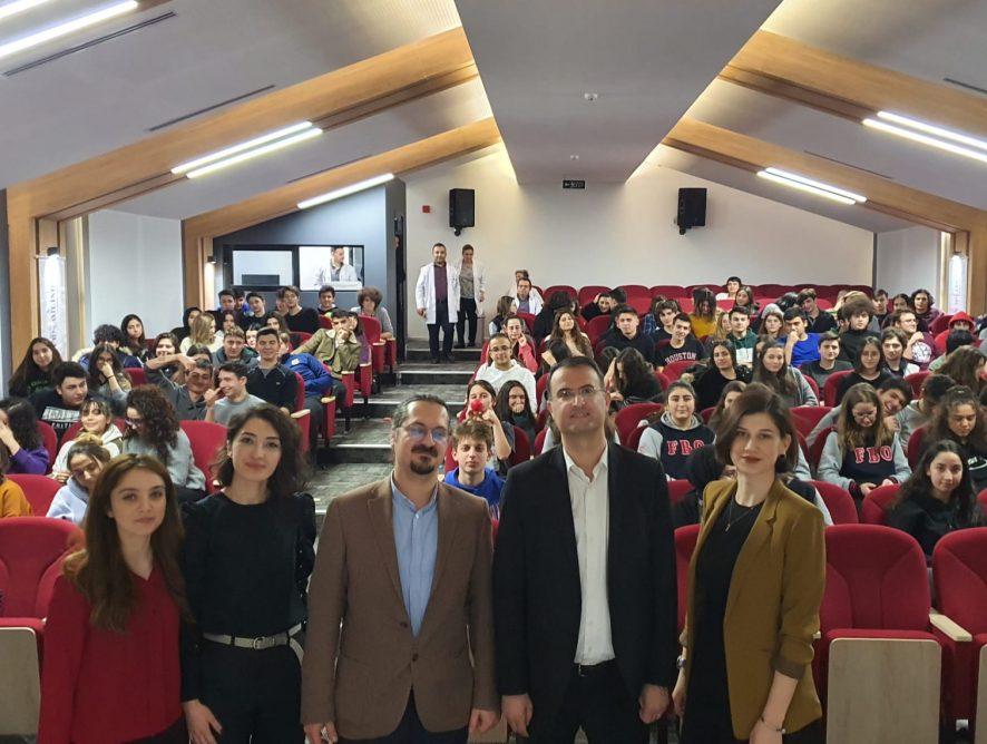 Mecidiyeköy Anadolu Lisemizin 11. ve 12. Sınıf öğrencilerine Sınava Hazırlığın Püf Noktaları konulu sunum yaptım. 12.02.2020