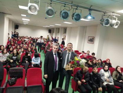 Bağcılar Barbaros Anadolu Lisesinin 11. ve 12. Sınıf öğrencilerine sunum yaptım. 18.02.2020