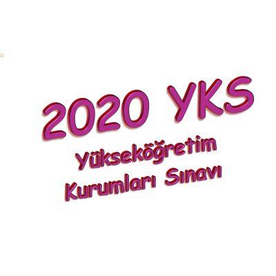 2020 YKS Konuları belli oldu